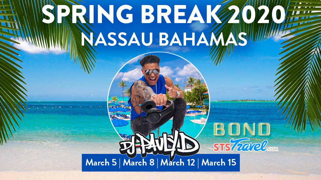 DJ Pauly D Added to Nassau Bahamas Spring Break 2020 Line Up